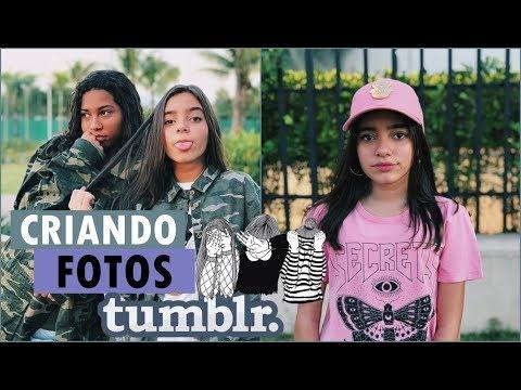CRIANDO FOTOS TUMBLR SOZINHA E COM BFF! (Ft. Aninha Farias)