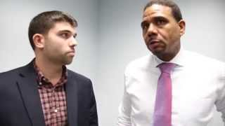 Craig Belhumeur with Ed Cooley – PC 72 Yale 66