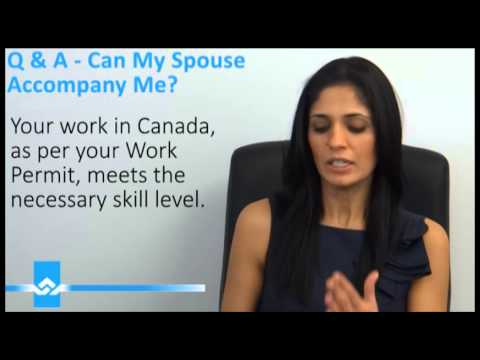 Open Work Permit for your Accompanying Spouse Video
