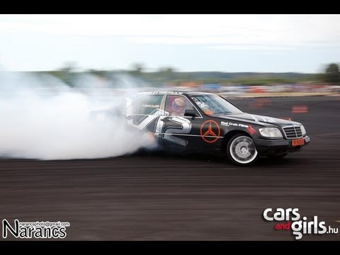 mercedes s 600 drift gymkhana