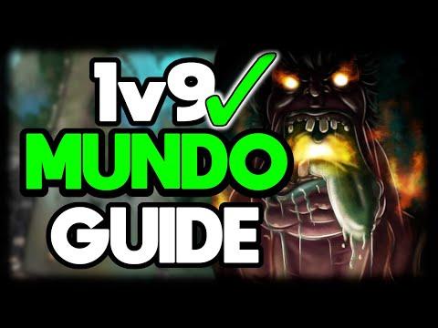 HOW TO MUNDO JUNGLE 1v9 FOR BEGINNERS | League of Legends