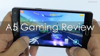 Samsung Galaxy A5 Android Smartphone Gaming Review