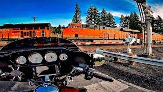 10. 2020 Harley-Davidson LiveWire..?! • Street Glides & Trains! | MotoVlog 318