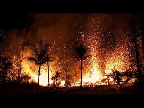 Χαβάη: Το ηφαίστειο «διώχνει» τους κατοίκους από τις εστίες τους