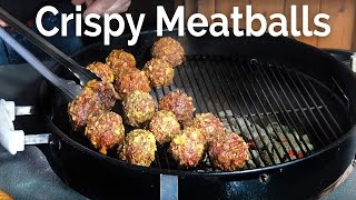 Crispy Meatballs At the Pit by BBQ Pit Boys