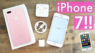 iPhone 7 PLUS Unboxing!! Rose Gold!! by Alisha Marie Vlogs