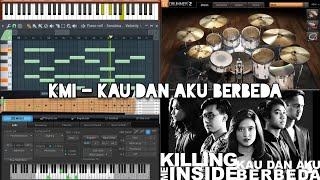 Video Killing Me Inside - Kau dan Aku Berbeda (Karaoke) FL Studio MP3, 3GP, MP4, WEBM, AVI, FLV Agustus 2018
