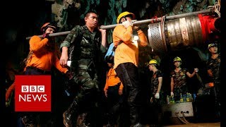 Thailand Cave How The Thai Cave Boys Were Rescued - BBC News
