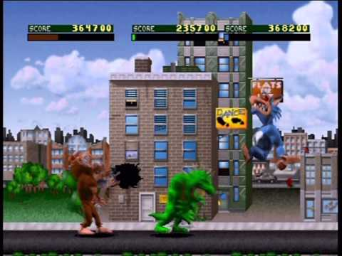 Rampage : World Tour Nintendo 64