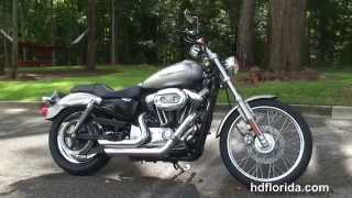 10. Used 2007 Harley Davidson Sportster 1200 Custom Motorcycles for sale