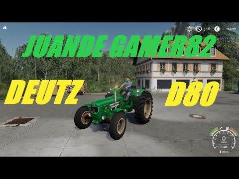 FS19 DeutzD80 v1.0