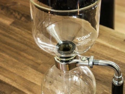 Im Test: Die Cona Vakuum Kaffeemaschine