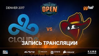 Cloud9 vs Renegades - Dreamhack Denver - de_train [sleepsomewhile, MintGod]