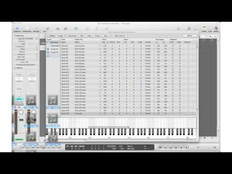 How To: Logic Pro – Loading multiple samples in EXS24 Sampler (Work-around for Logic Pro 9.0.1)