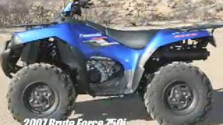 5. ATV Television Test - 2008 Kawasaki Brute Force 750