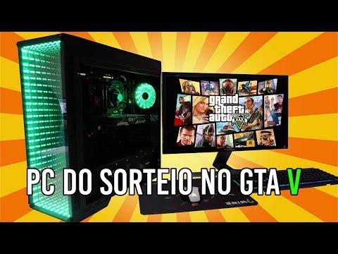 Chipart - ESSE MEGA PC GAMER PODE SER SEU!!! TESTE NO GTA 5