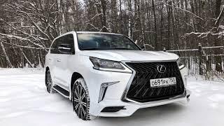 Обзор Lexus LX 570 в версии Superior - в чём