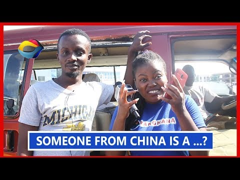 Someone from China is a...?  Street Quiz  Funny Videos  Funny African Videos  African Comedy