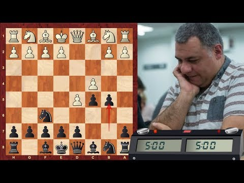 Chess World.net: LIVE Blitz #1324 vs sergor (FM) (2191) – Benkö gambit (A57) Scalp Alert!