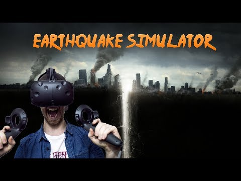 HOW TO SURVIVE AN EARTHQUAKE! | VR Earthquake Simulator - HTC Vive Gameplay