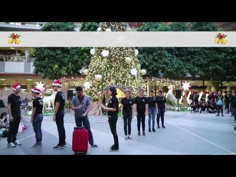 """Text Me Merry Christmas"" by Straight No Chaser ft. Kristen Bell - RSP(DC) Christmas Song Sign 2017"