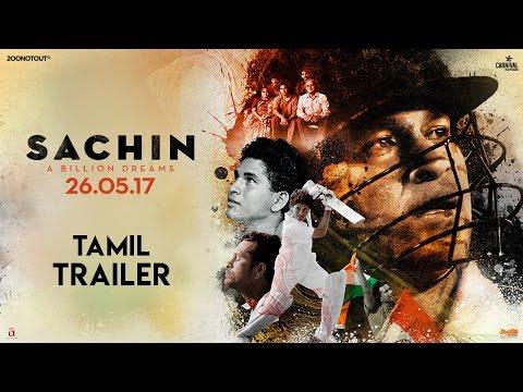 Sachin A Billion Dreams | Official Tamil Trailer | Sachin Tendulkar