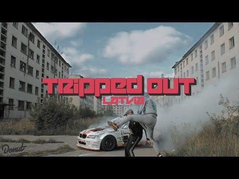 Drifting in an abandoned Soviet military town in Latvia