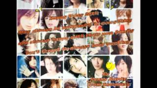 Support Jin Akanishi Worldwide 28th Birthday Video