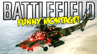 Battlefield BC2 Funny Montage! Christmas Tree Heli, Twerking Soldiers & More (BF Funny Moments)