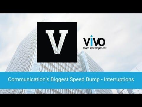 Communication's Biggest Speed Bump - Interruptions