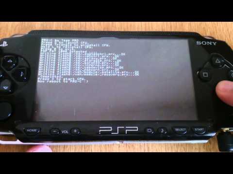 PSP Phat 3.80 to 6.60 CFW