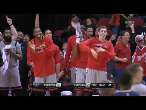 Rockets set NBA record by hitting 24th three of the night