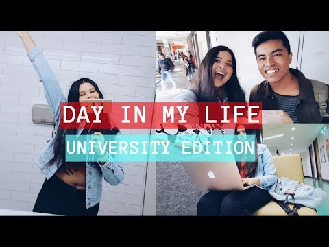 DAY IN MY LIFE AS A UNIVERSITY STUDENT (AUSTRALIA)