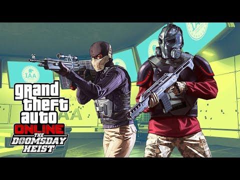 GTA 5 - THE DOOMSDAY HEIST!! (GTA 5 Online Heists) (видео)