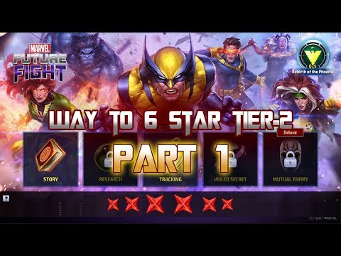 X-Men Epic Quest Wolverine Way To 6 Star Tier 2 Part 1 - Marvel Future Fight