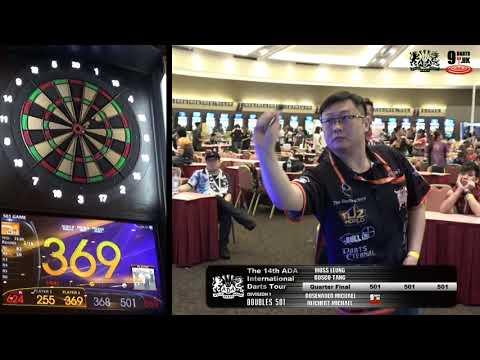 The 14th ADA International Darts Tour - DOUBLES 501 Division 1 - Quarter Final