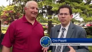 Local IBEW 2270 Endorses Ciro Poppiti for Lt. Governor of Delaware