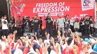 NDX AKA -SAYANG (HIP HOP JAWA )  LIVE Video