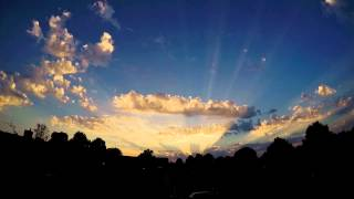 GoPro Hero 4 - Timelapse Sunset Cloud
