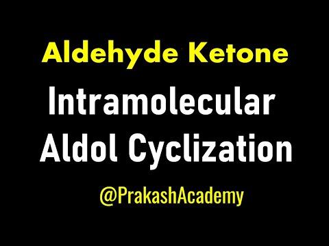 Organische Chemische-Carbonylverbindung-Aldol Cyclisierung - Problem