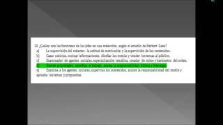 Umh1202 Teoría De La Comunicación Mediática. Examen Febrero 2012-13