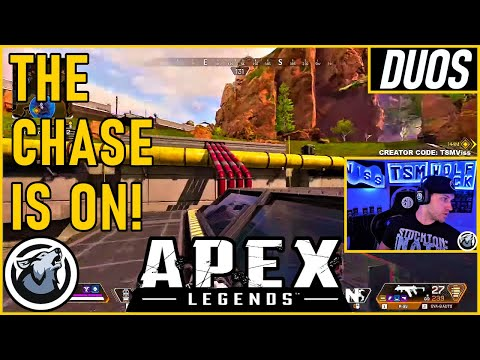 THE CHASE IS ON! VISS w/ TannerSlays APEX SEASON 5