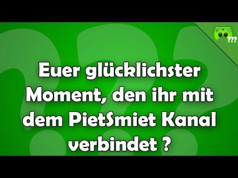 Euer glücklichster Moment, den ihr mit dem PietSmiet Kanal verbindet ? - Frag PietSmiet ?!