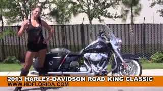 9. Used 2013 Harley Davidson Road King Classic Motorcycles for sale