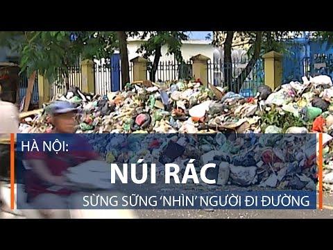 Hà Nội: Núi rác sừng sững 'nhìn' người đi đường | VTC1 - Thời lượng: 2 phút, 28 giây.