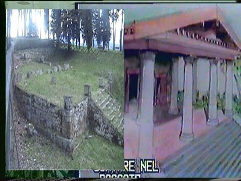 il tempio del belvedere, storia e reperti