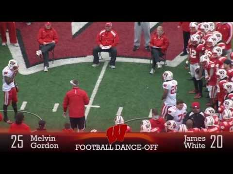 Wisconsin - Wisconsin broke up Spring practice with some one-on-one dance competition. Check out which Badgers brought it with the whole team looking on.