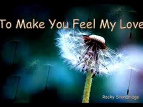 Garth Brooks To Make You Feel My Love / Lyrics / Cover by Rocky Standridge