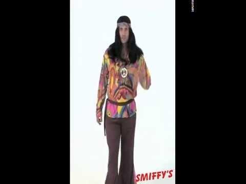 Deguisement hippie psychedelique