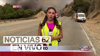 Intenta apagar el incendio más grande de Los Ángeles – Noticias 62  - Thumbnail